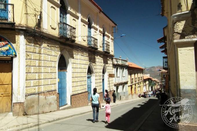 Ruas de Potosí - Aqui é Assim