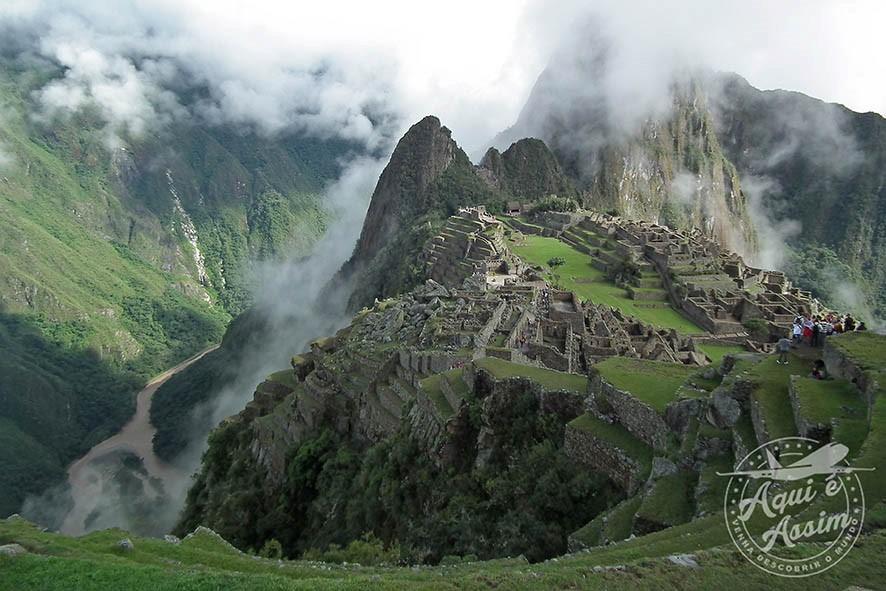 Vista espetacular do vale