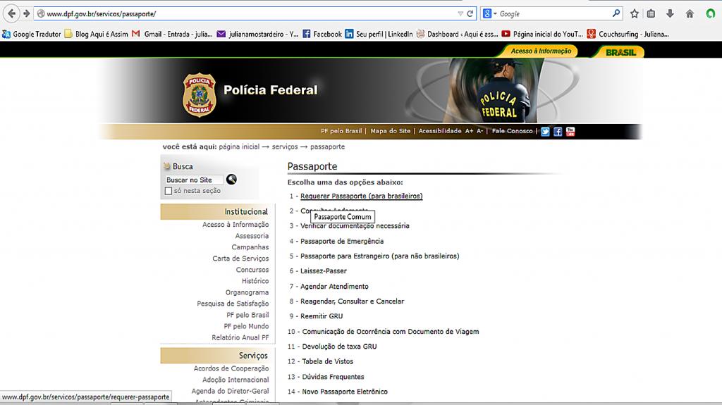 Portal da Polícia Federal