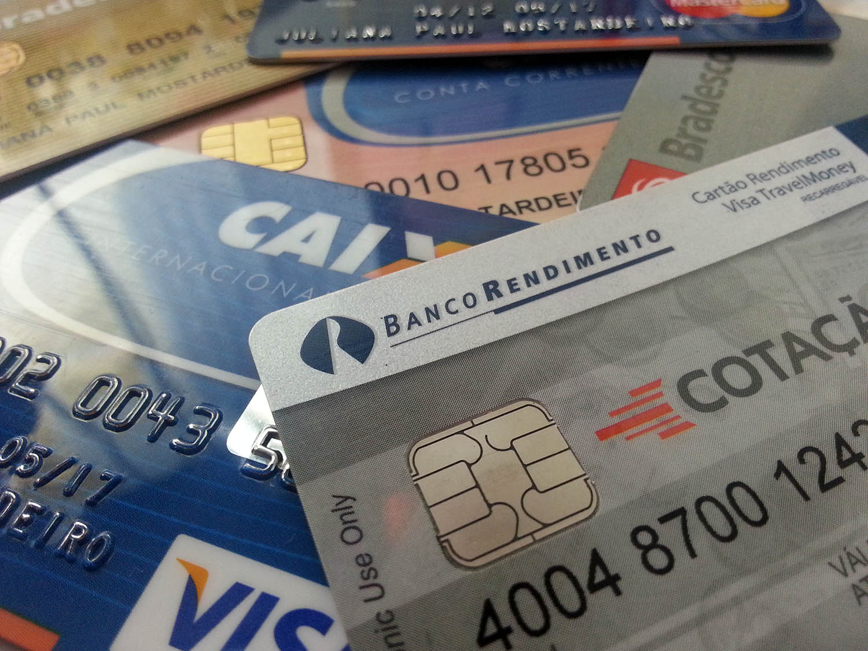 Cartões: a forma mais segura de levar dinheiro para o exterior