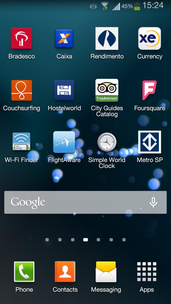 Tanto para baixar, quanto para utilizar os apps é necessária conexão 3G ou Wi-Fi