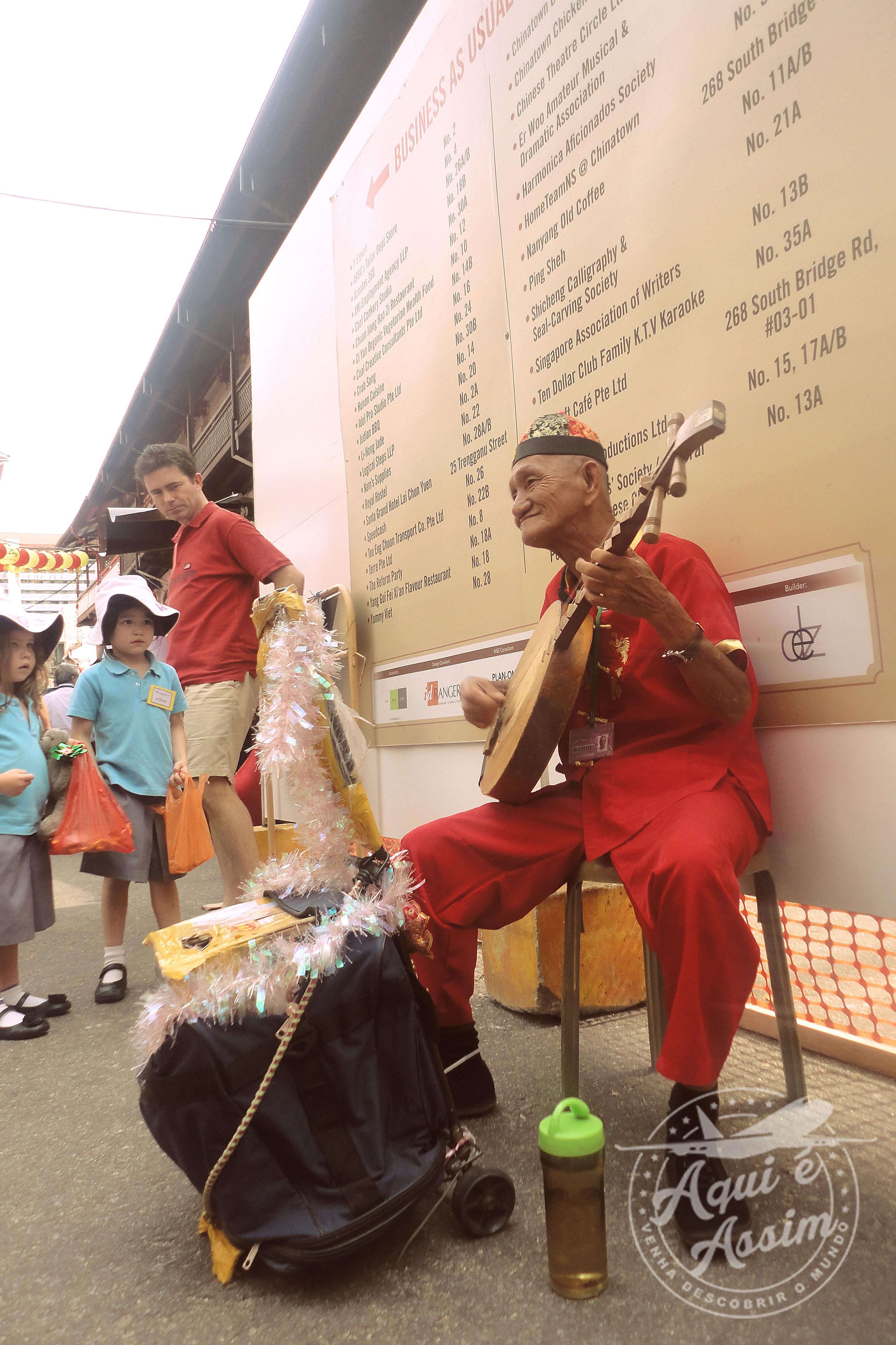 Música na China Town