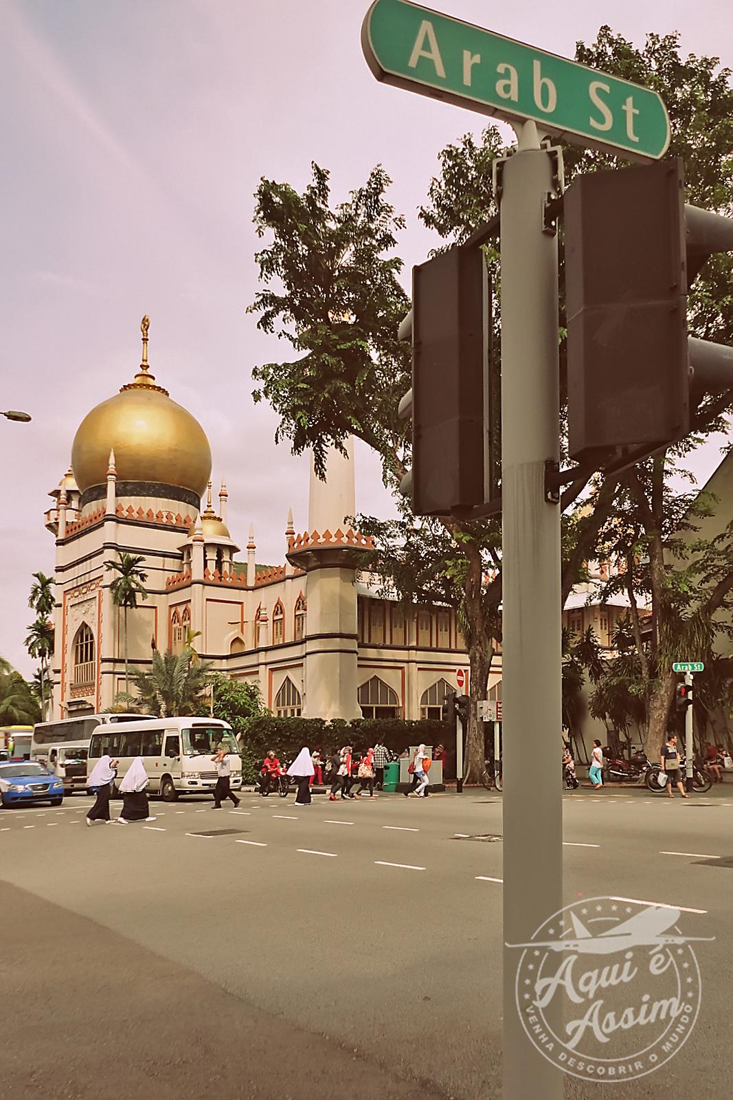 Arab Street e a Mesquita do Sultão