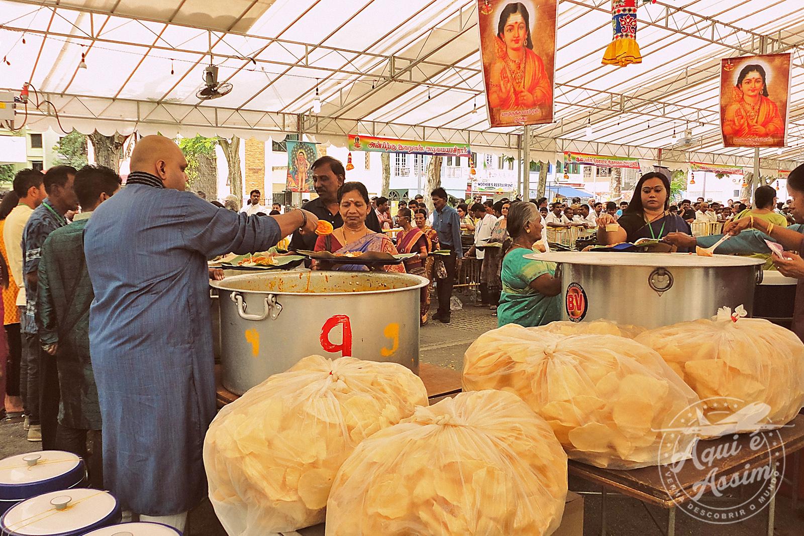 Celebração Indiana em Cingapura