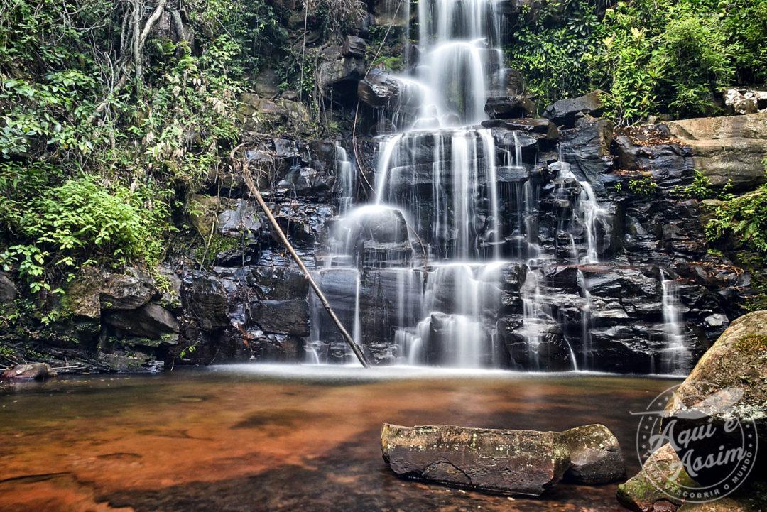 Queda d'água na região da Gran Sabana