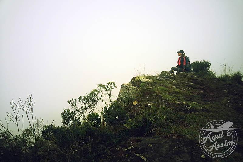 Canyon Fortaleza encoberto pela neblina