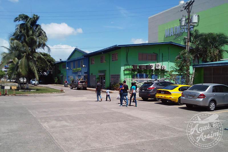 Goodwill Panamá, a ONG que trabalho, localizada em um distrito chamado Los Andes