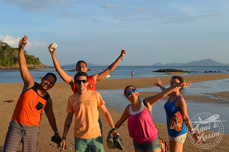 Praia de Vera cruz, primeira praia do pacífico que conheci
