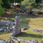 Ruinas de Panamá Viejo, a primeira cidade do panamá totalmente incendiada no ano de 1671. Hoje é considerada patrimonio mundial da unesco