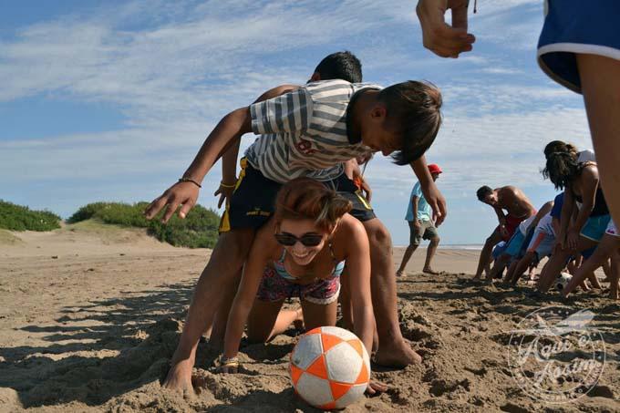 Crianças do projeto realizado através da AIESEC Brasil