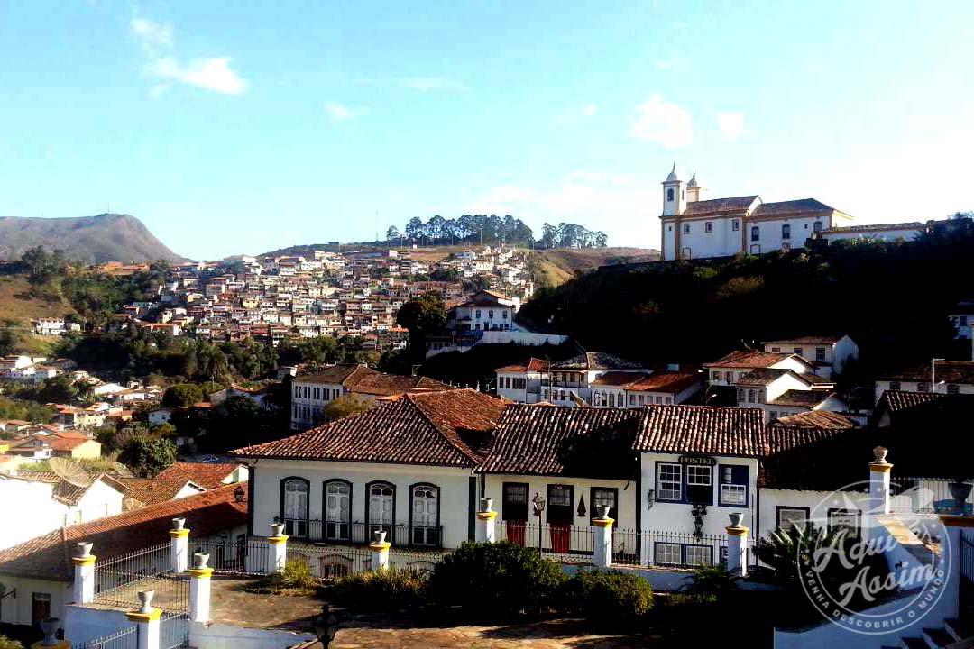 Vista do hostel