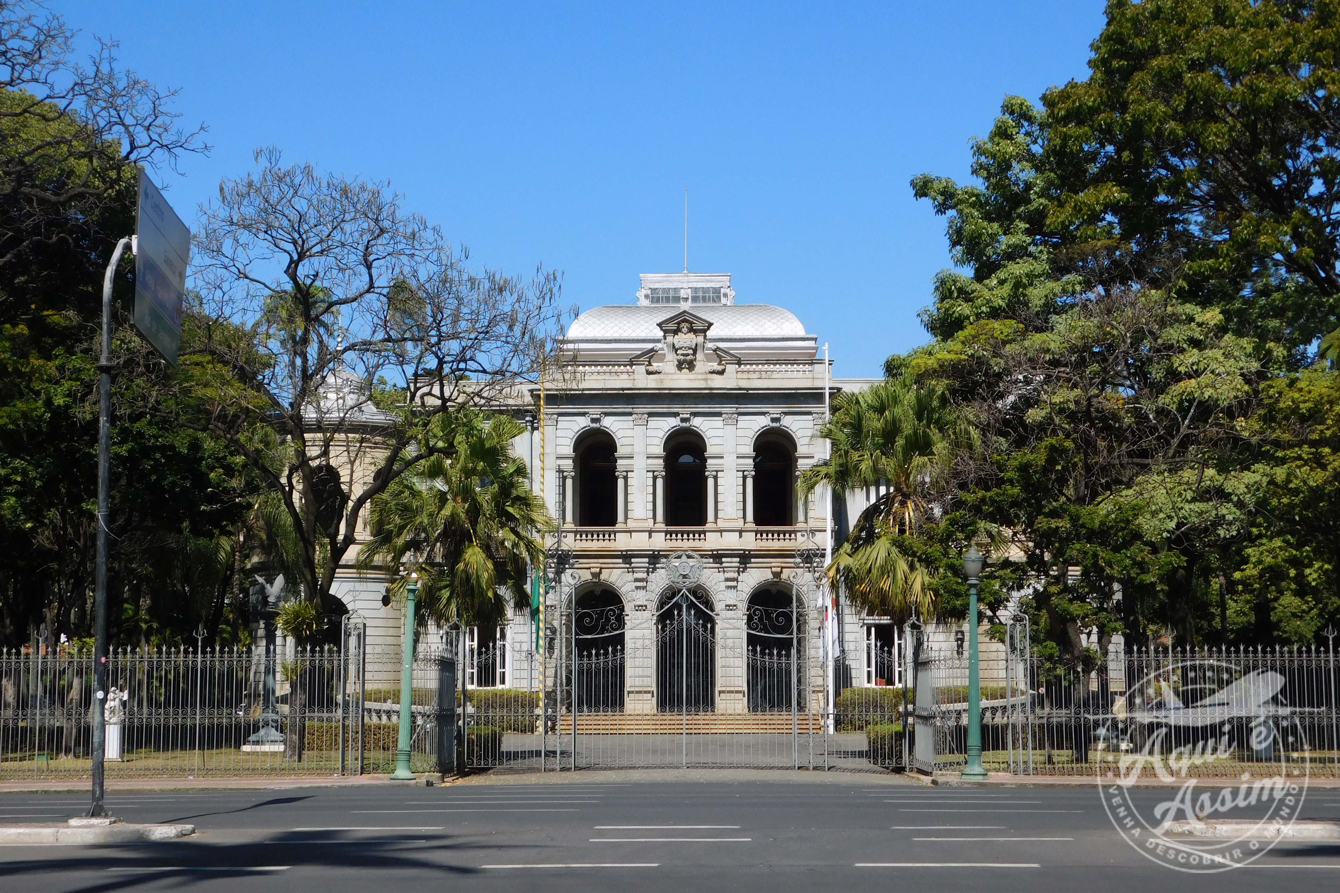 Palácio da Liberdade na capital mineira