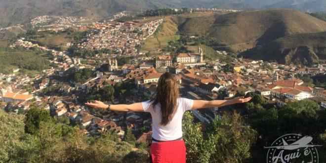 Mirante do Morro São Sebastião em Ouro Prêto