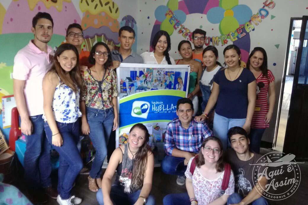 Projeto social na Colômbia.