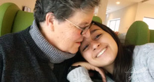 Carol e dona Quininha