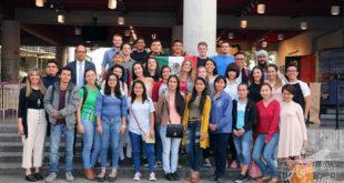 Encontro de intercambistas na Universidade de Caldas promovido pelas universidades de Manizales