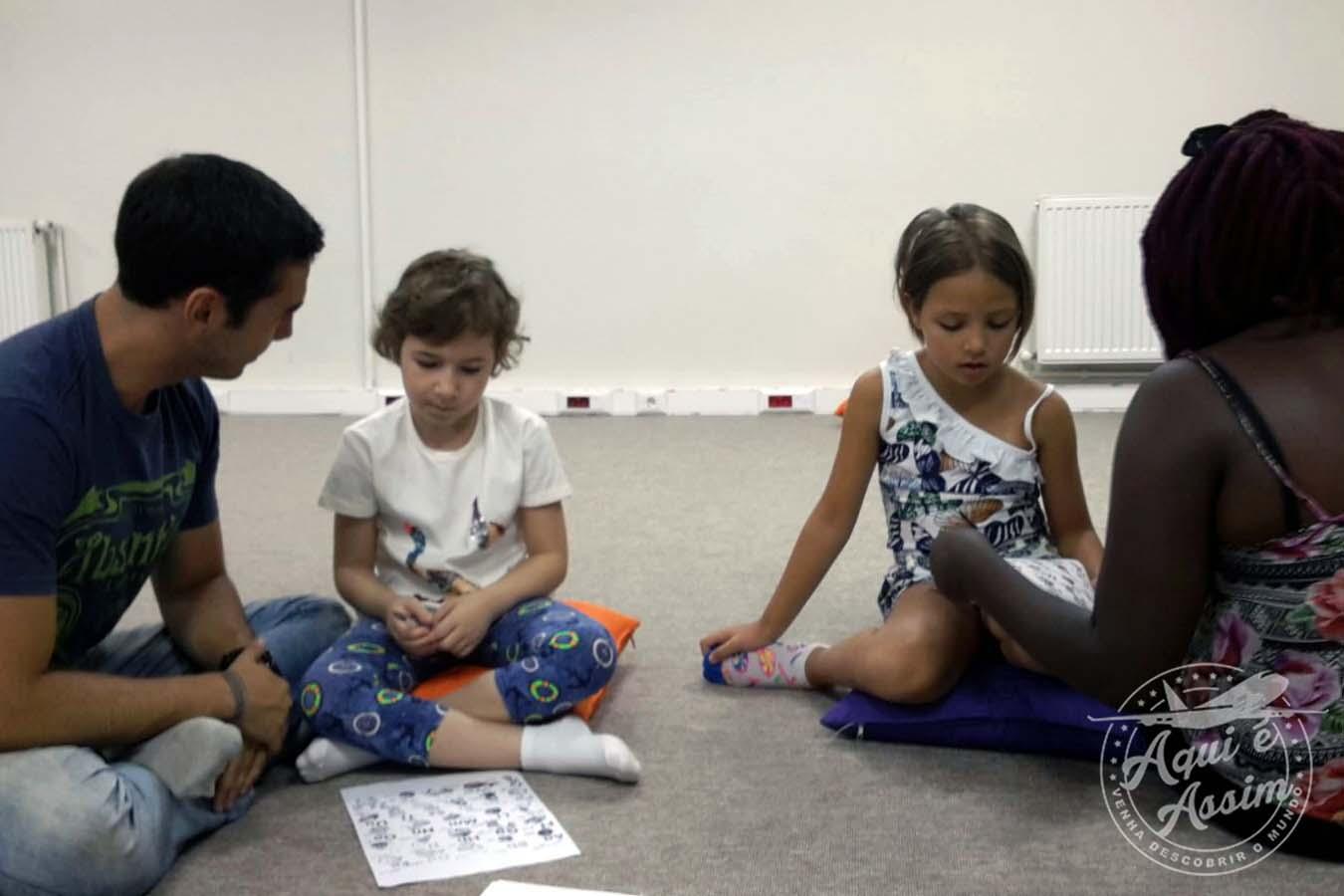 Projeto social com crianças na Turquia